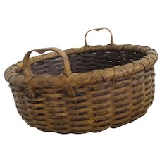 Vintage Split Oak Basket