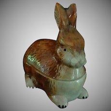 Vintage Rabbit, Petite Tureen, Michel Caugant, France