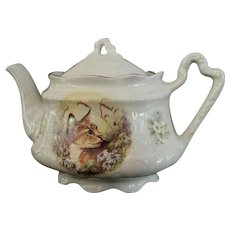Vintage Tea Pot, Arthur Wood, Staffordshire, England