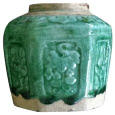 Vintage Oriental Brush Pot
