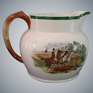 Spode ~ Herring Hunt Pitcher