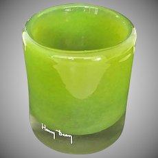 Vintage Henry Dean Art Glass Hurricane