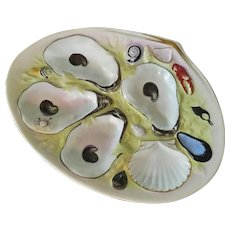 Antique,  Union Porcelain Works,  Oyster Plate