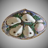 Antique, UPW,  Union Porcelain Works, Oyster Plate