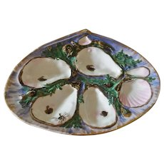 Antique Union Porcelain Works, Oyster Plate