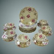 Gorgeous, Barvaria, Porcelain,  Coffee/Tea, Set