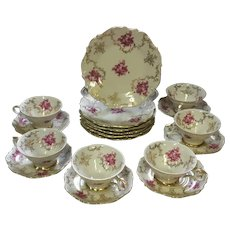 Gorgeous, Barvaria, Porcelain,  Coffee/Tea, Set
