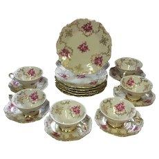 Gorgeous, Vintage, Schumann, Barvaria, Porcelain,  Coffee/Tea, Set