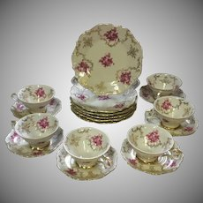 Gorgeous, Vintage, Schumann, Barvaria, Porcelain,  Coffee/Tea, Set