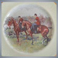 Equestrian Hunt Plate, England