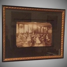 19th Century Classroom Photograph ~ School
