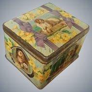 Sir Edwin Landseer Pictorial Biscuit Tin