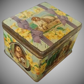 Sir Edwin Landseer Pictorial Biscuit Tin