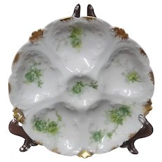 19th Century Oyster Plate, CFH / GDM