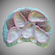 19th Century Crescent Oyster Plate