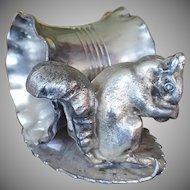 19th Century Squirrel Napkin Ring