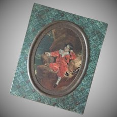 Antique Biscuit Tin ~ Huntley & Palmers
