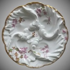 19th Century Oyster Plate ~ Limoges