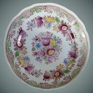 Vintage Mikori Japanese Hand Painted Plates ~ Set of Six