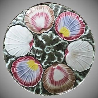 19TH Century Wedgwood Oyster Plate