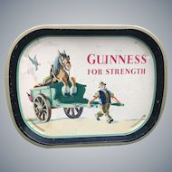 Vintage Guinness Advertising Tray