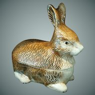 Vintage Petite Rabbit Tureen ~ Michel Caugant
