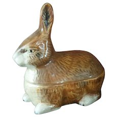 Vintage French Rabbit Tureen ~ Michel Caugant