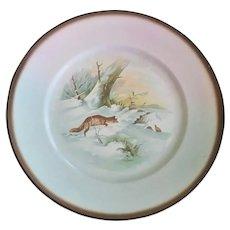 Vintage Fox Theme Plates ~ Set of Four