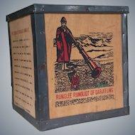 Vintage Darjeeling Tea Tin ~ Box
