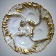 Charles Field Haviland, Limoges, Oyster Plate