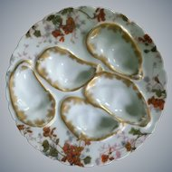 Haviland, Limoges, Antique, Oyster Plate