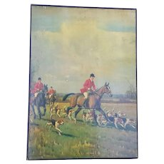 Unique Memorabilia Album ~ Equestrian Fox Hunt Theme