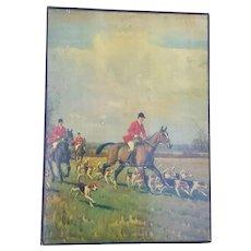 Vintage Memorabilia / Scrap Album ~ Equestrian Theme