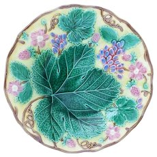 Antique Wedgwood Collectable Majolica Plate