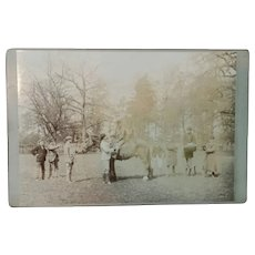 19th Century, Rare,  Horse Racing,  Cabinet Card