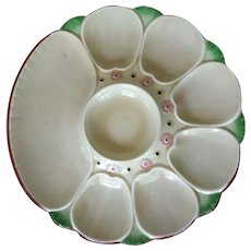 Antique Minton Oyster Plate