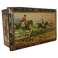 Equestrian Fox Hunt Tin