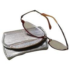 Judith Leiber Reader Glasses & Petite Case