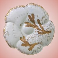 Haviland Antique Oyster Plate