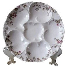 19th Century, Oyster Plate, Haviland & Co., Limoges
