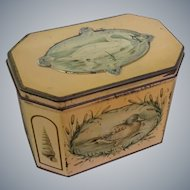 "Huntley & Palmers, ""Swan"", Biscuit Tin / Tea Caddy"