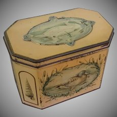 "Huntley & Palmer, ""Swan"", Biscuit Tin / Tea Caddy"