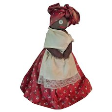 Mammy Bottle Doll, Americana, Vintage Collectable