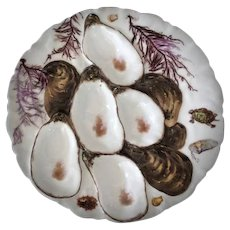 19th Century, Turkey,  Oyster Plate