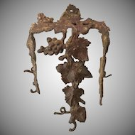 19th Century, Grapevine, Architectural Brackets, Perfect Wine Cellar Decor