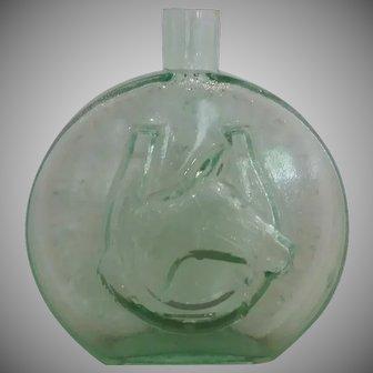 Vintage Bottle, Commemorating, Jamestowne, Va.,  First, Governor's, Horse