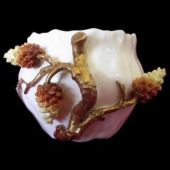 Moore Bros flower pot/compote Circa 1880-1905
