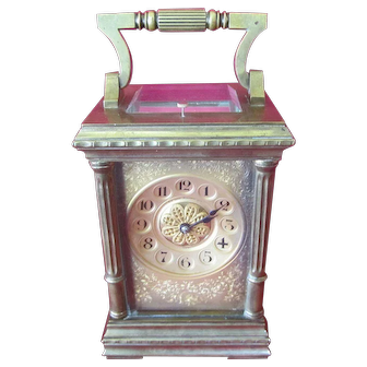 Late 19th Century Sir John Bennett Carriage Clock