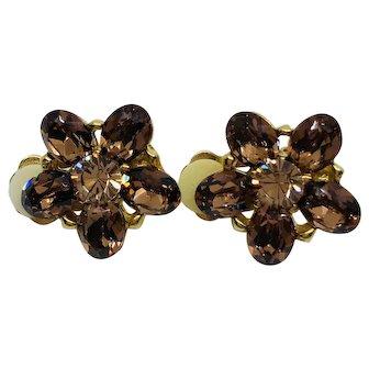 Delmonico Clip Earrings