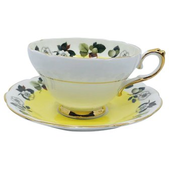 Royal  Sutherland  Staffordshire Teacup and Saucer
